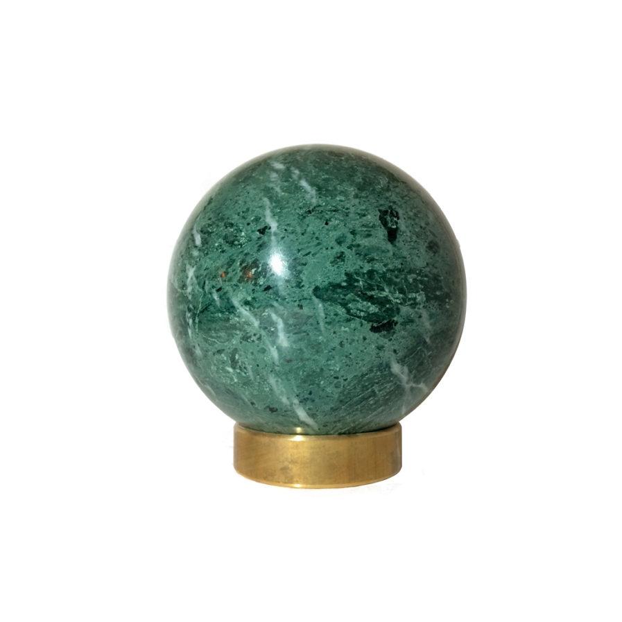Green-marble-sphere-ø12-MarbleSphere-Marble-Brass-Decoration-Exclusive-Unique-Carrara-HomeDecor-GiftIdea-gave ide-marmorkugle-krystalkugle-messing-kaja skytte-moderne-dansk design