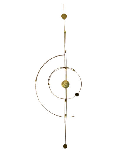 Wall-Orbit-no1-Design-Handmade-WallDecoration-Universe-Orbit-Brass-Messing-beautiful design-flash-room-upgrade-we love brass-interior design from denmark-cph design- cph designer-kaja skøtte-skytte design-plants and designs