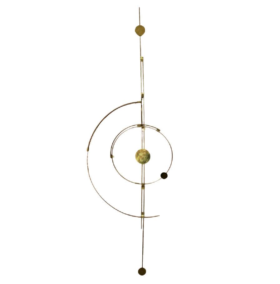 Wall-Orbit-no1-Design-Handmade-WallDecoration-Universe-Orbit-Brass-Messing-beautiful design-flash-room-upgrade-we love brass-interior design from denmark-cph design- cph designer-kaja skøtte-skytte design-plants and designs