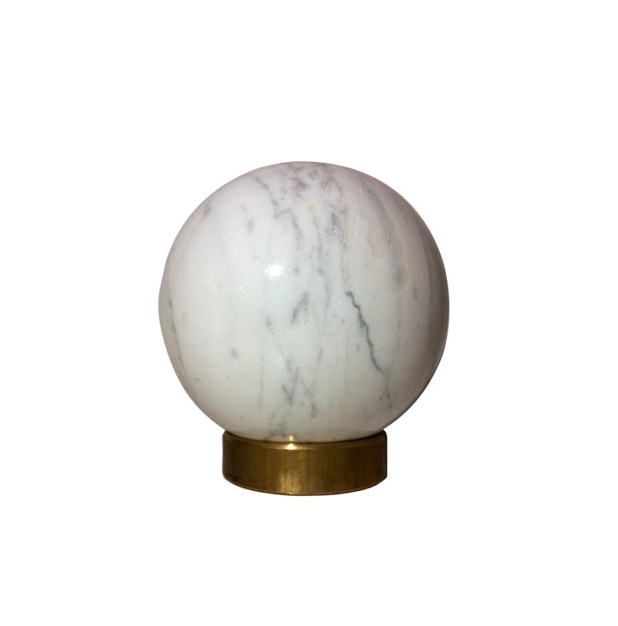 kaja skytte-Green-marble-sphere-ø12-MarbleSphere-Marble-Brass-Decoration-Exclusive-Unique-Carrara-HomeDecor-GiftIdea-gave ide-marmorkugle-krystalkugle-messing-kaja skytte-moderne-dansk design